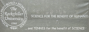 Tennis for the benefit of science